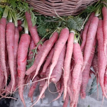 Zanahoria con hoja x atado